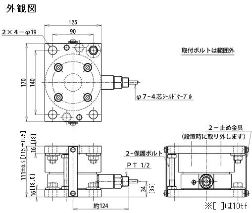 DFシリーズ 外観図