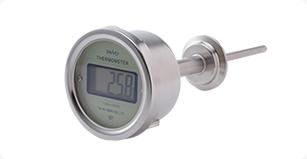 サニタリーデジタル温度計電池型